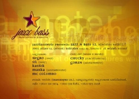 Jazz'n'bass - Jazztaminute presents: Jazz'n'Bass 12.