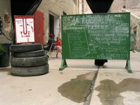 Tűzraktár - Tűzraktár – Új központ a város szívében