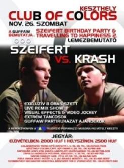 DJ Szeifert - Tiestó éjfélkor érkezik, Szeifert bemelegít