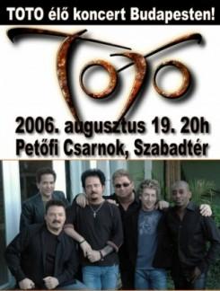 TOTO - Toto: Budapesten a rock legenda!