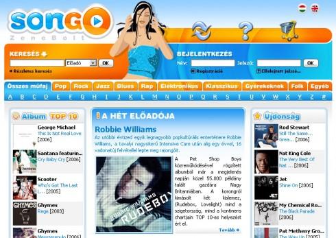 Emusic - A SONGO zenebolt megnyílt Magyarországon