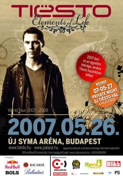 DJ Tiesto - Tiësto újra Budapesten!
