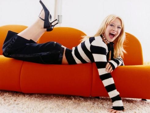 Hilary Duff - Listamustra 2007/16