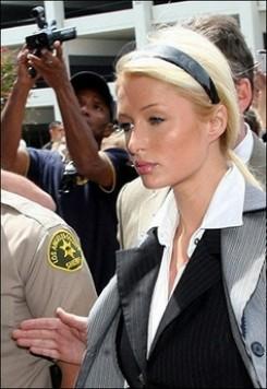 Paris Hilton - Letöltendő börtönt kapott Paris Hilton