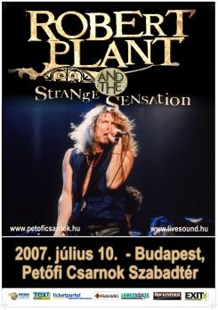 Robert Plant - Robert Plant ismét Budapesten