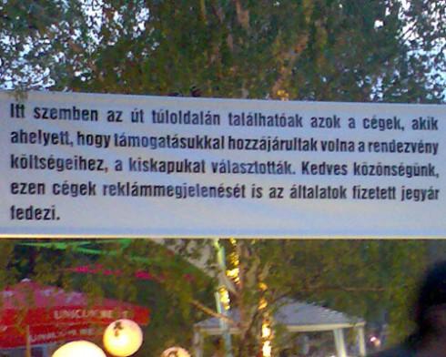 Sziget - Sziget 2007: Első napi fi(r)ka