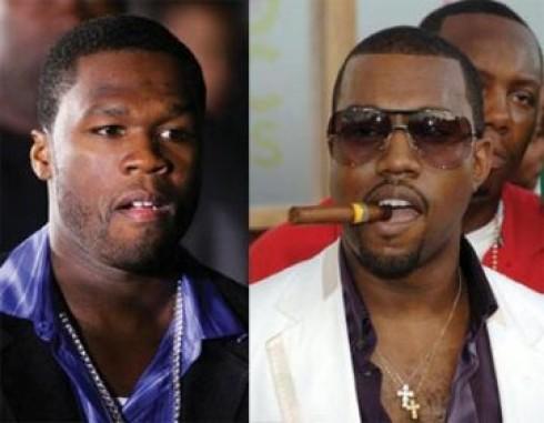 50 Cent - Élő tévéshowban is összecsap Fifty és Kanye