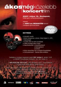 Ákos - Ákos: tripla DVD és dedika