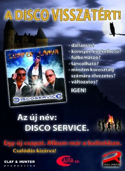 Válogatás - A Disco Service bebizonyítja, hogy a Disco örök!