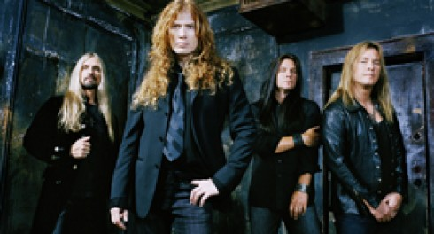 Megadeth - Megadeth: csere a gitáros poszton