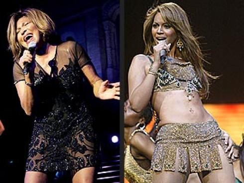 Beyonce - Beyoncé-Tina Turner duett a Grammy gálán