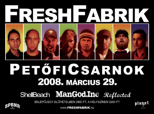 Freshfabrik - Jubileumi Fresh Fabrik koncert