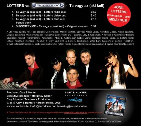 DJ Lotters - DJ Lotters vs. Disco Service