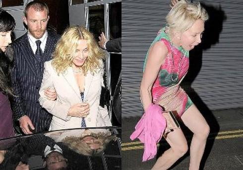 Madonna - Többször megverte Madonnát férje