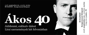Ákos - Ákos 40: rekordszámú előrendelés