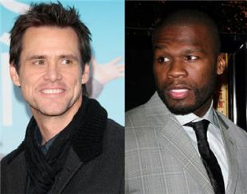 50 Cent - Jim Carrey-nek szerenádozott 50 Cent