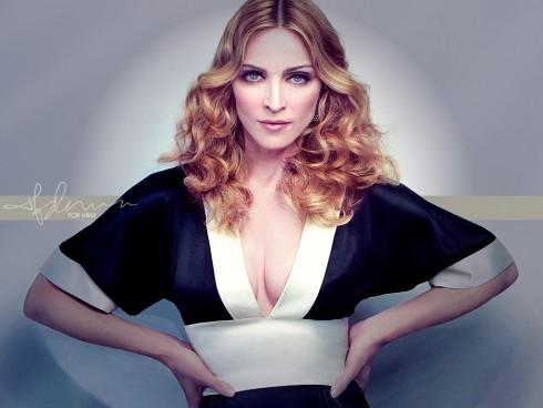 Madonna - Férfiak kullognak három nő után