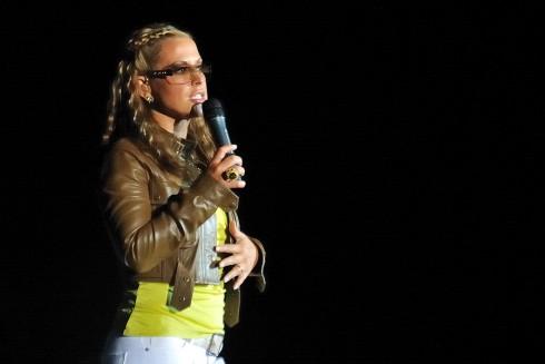 Anastacia - Anastacia megmentette a szervezetlen koncertet