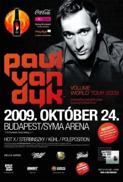 Paul Van Dyk - PAUL VAN DYK Budapesten mutatja be új szettjét