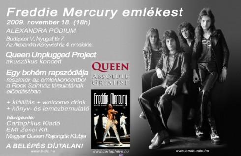 Queen - Freddie Mercury emlékest!