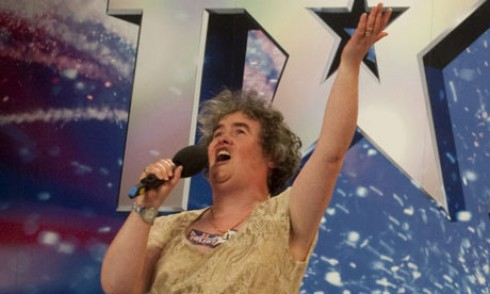 Susan Boyle - Érik a 50 Cent-Susan Boyle duett