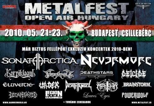 MetalFest Open Air - 72 órás orgia Csillebércen!