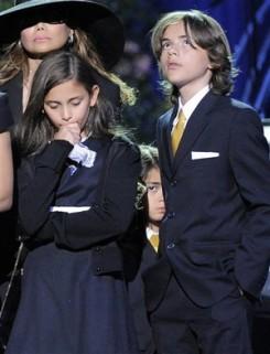 Michael Jackson - Jackson gyermekei vették át a Grammy-t