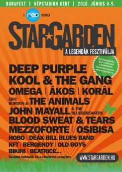 Fesztivál - StarGarden - a legendák fesztiválja