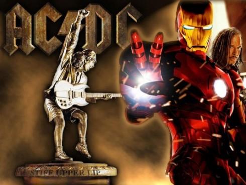 AC/DC - Az AC/DC a csúcson az IRONMAN zenéjével