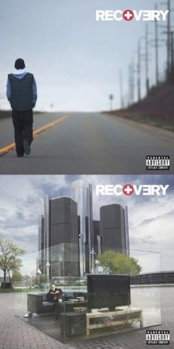 Eminem - Kész van Eminem új lemezborítója