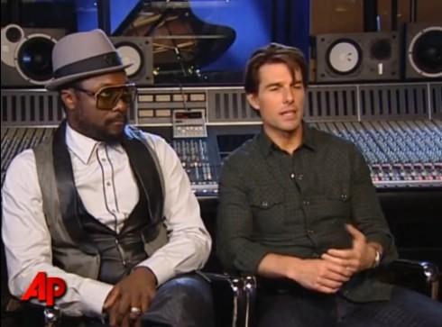 Will.I.Am - Will.I-Am számot írt Tom Cruise-nak