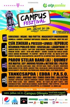 Campus Fesztivál - Venezuelából és Argentínából a Campusra