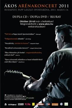 Ákos - Ákos: október végén koncertkiadványok sora!