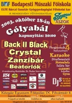Gólyabál - BMF Gólyabál - október 18.