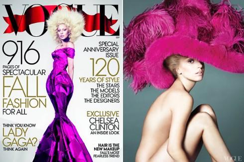 Lady GaGa - Lady Gaga újra a címlapon