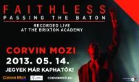 Faithless - Különlegesek zenei koncertek mozivásznon!