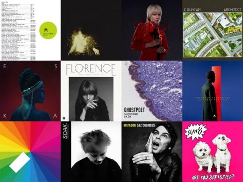 Mercury Music Prize - A tizenkét várományos