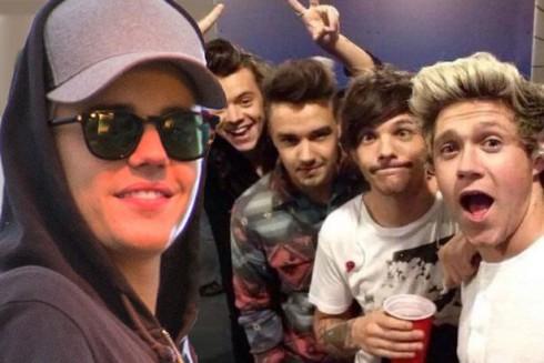 Listamustra - Justin Bieber és a One Direction brit párharca