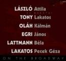László Attila - László Attila és barátai: On the Broadway (Tom-Tom)