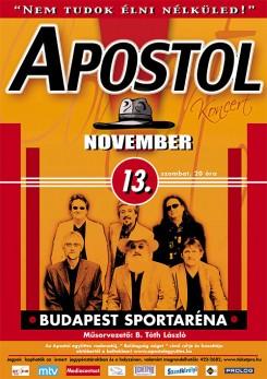 Apostol - Apostol koncert a BSArénában