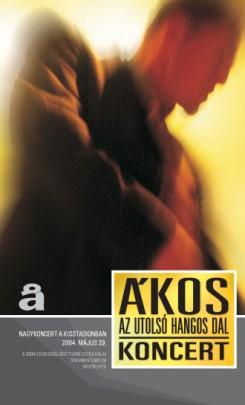 Ákos - Megjelent Ákos legújabb DVD és VHS kiadványa!
