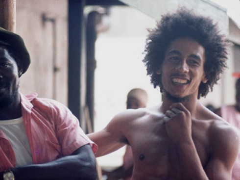 Bob Marley - Etiópok Bob Marley oldalán