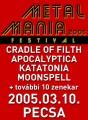 Apocaliptica - Metal Mania Fesztivál