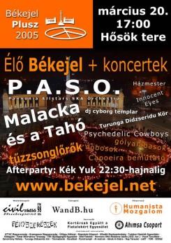 Fesztivál - Békejel 2005 - Hősök tere