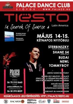 DJ Tiesto - Palace Grand Opening Party